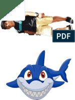 鲨鱼人面具
