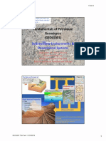 3.Sedimentary Environments Depositional Systems