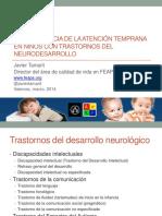 Atención Temprana en TND_Valencia_marzo2014