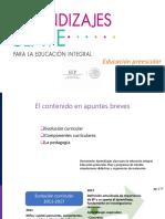 Presentacion Aprendizajes Clave Sesion 1