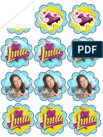 Soy Luna Cupcake Toppers