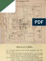 Plan of Mandalay Royal Palace Circa 1917