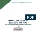 Manual del Usuario SAT