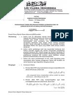 Fatwa MUI No. 33 Tahun 2018 tentang penggunaan vaksin MR (measles rubella) produksi dari SII (serum institue of India) untuk imunisasi.pdf