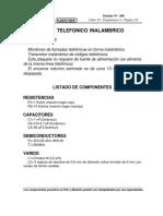 Espia telefonico Inhalambrico