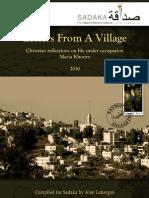 Sadaka Letters From a Village