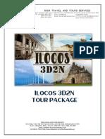 3d2n Ilocos Tour Package