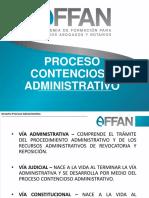 Proceso Contencioso Administrativo - Fb Live