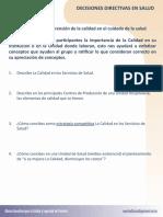 Ejercicio1. Decisiones Directivas en Salud