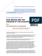 Gog, Magog and the Kingdom of the Khazars