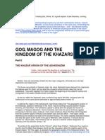 Gog, Magog and the Kingdom of the Khazars