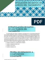 """3.4 """"Extrapolación de Datos de Los Fluidos Del Yacimiento"""