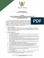 Pengumuman, Lampiran Dan Format Isian Pelaksanaan CPNS 2018 KAB SUBANG