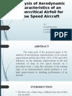 Super Critical Airfoil