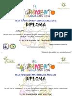 Diplomas 2018 Camp
