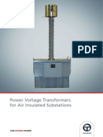 Oil Insulated Power Voltage Transformers (IEEE) – INT Format