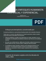 Psicoterapia Enfoques Humanista Existencial y Experiencial