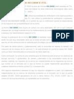 ¿Qué Aporta ISO 20000 Respecto a ITIL_ - Normas ISO