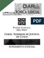 Aviso Judicial Cusco Peru Judiciales 8-11-16