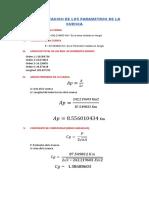 Interpretacion de Los Parametros de La Cuenca