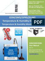 S264~S266 3G 4G Temperature Data Logger V1.0