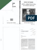 Rudolf Wittkower, Arte y arquitectura en Italia 1600-1750.pdf