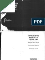 E. Lucie Smith - Movimientos artìsticos desde 1945