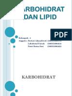 Karbohidrat Dan Lipid [Autosaved]
