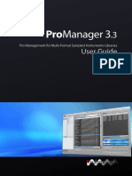 Pm User Guide