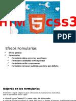 Diseño web  Fomularios html5 css3