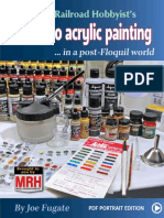 Acrylic Painting Guide Post Floquil Portrai