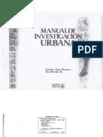 Manual de Investigacion Urbana PDF