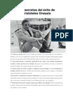 Los Secretos Del Éxito de Aristóteles Onassis