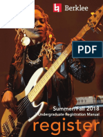 Berklee 2018 Registration_manual