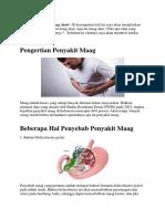 Obat Maag Akut Herbal Yang Manjur