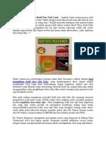 Cara Pemesanan Obat Kutil Dan Tahi Lalat