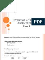 Assembler Pass1