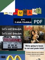 Basic Grammar Part 1