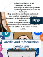 Media and Information Language 8