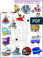 Means of transport elementary worksheet
