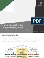 1 Minerals Rock Types Classificationsedrocks Carbonates August 2015
