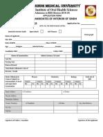 20181003 Admission Form BDS 2018-19 SIOHS.pdf