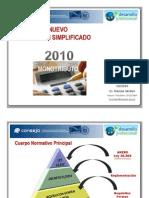 Nuevo Monotributo 10-2010
