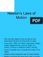 Newtons Laws of Motion 101