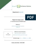 Modèle Rapport de Stage  by MOHAMED SALAMA