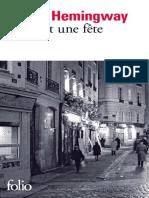 Hemingway - Paris est une fête