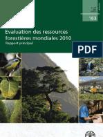 L'Evaluation des ressources forestières mondiales 2010_FRA2010_FAO