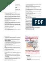 40 Medidas de La Unidad Popular Del Gobierno de Salvador Allende