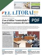 El Litoral Mañana 06-10-2018
