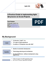 A Practical Guide to Implementing Agile QA Process on Scrum Projects
